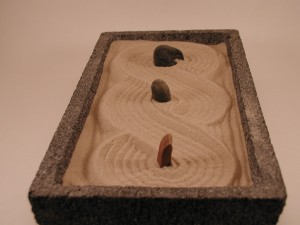 Zen Rock Garden (Straight shot)