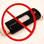 No USB FlashDrive