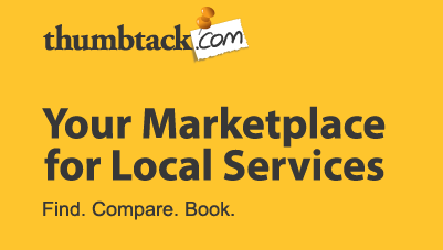Business search using Thumbtack.com