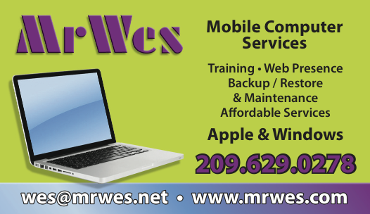 MrWes Consulting Business Card